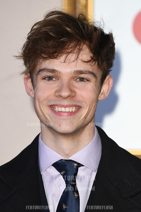 LONDON, UK. November 21, 2018: Jonas Moore at the &quot;Surviving Christmas with the Relatives&quot; premiere at the Vue Leicester Square, London.<br /> Picture: Steve Vas/Featureflash