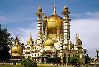 Ubudiah Mosque, near Kuala Kangsar, Perak, Malaysia..