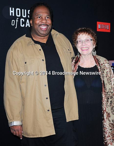 Pictured: Leslie David Baker<br /> Mandatory Credit &copy; Adhemar Sburlati/Broadimage<br /> Film Premiere of House of Cards<br /> <br /> 2/13/14, Los Angeles, California, United States of America<br /> <br /> Broadimage Newswire<br /> Los Angeles 1+  (310) 301-1027<br /> New York      1+  (646) 827-9134<br /> sales@broadimage.com<br /> http://www.broadimage.com