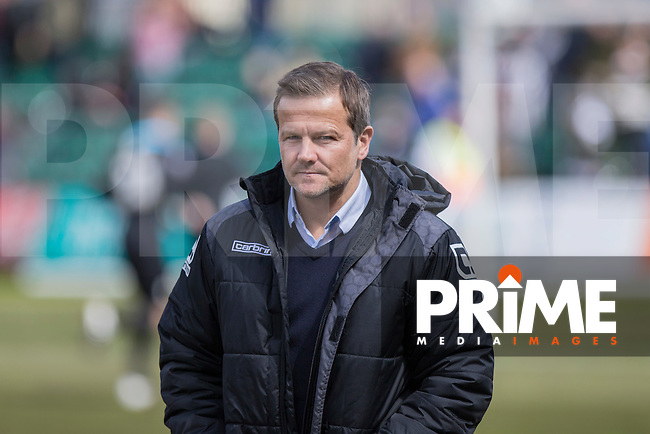 Notts County manager Mark Cooper ahead of the Sky Bet League 2 match between Newport County and Notts County at Rodney Parade, Newport, Wales on 30 April 2016. Photo by Mark  Hawkins / PRiME Media Images.