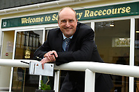 Executive Director and Clerk of the Course at Salisbury Racecourse Jeremy Martin during Bathwick Tyres Reduced Admission Race Day at Salisbury Racecourse on 9th October 2017