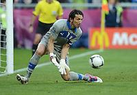 FUSSBALL  EUROPAMEISTERSCHAFT 2012   VORRUNDE Italien - Kroatien                    14.06.2012 Torwart Gianluigi Buffon (Italien)