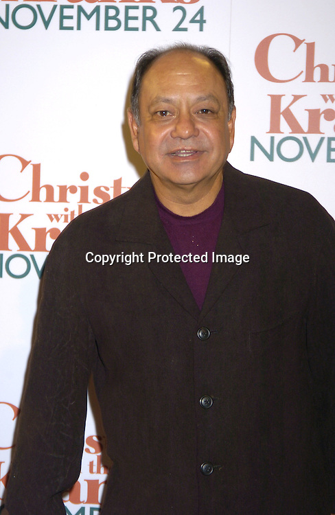 "Cheech Marin ..at the World Premiere of ""Christmas with the Kranks"" on ..November 15, 2004 at Radio City Music Hall...Photo by Robin Platzer, Twin Images"