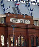 Flags flying high over the grand old lady of Edmiston Drive as the Rangers AGM takes place