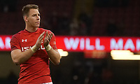 Wales' Liam Williams at the end of the game <br /> <br /> Photographer Ian Cook/CameraSport<br /> <br /> Under Armour Series Autumn Internationals - Wales v South Africa - Saturday 24th November 2018 - Principality Stadium - Cardiff<br /> <br /> World Copyright &copy; 2018 CameraSport. All rights reserved. 43 Linden Ave. Countesthorpe. Leicester. England. LE8 5PG - Tel: +44 (0) 116 277 4147 - admin@camerasport.com - www.camerasport.com