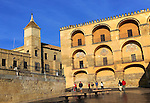 Historic buildings around the mezquita, Great Mosque, Cordoba, Spain