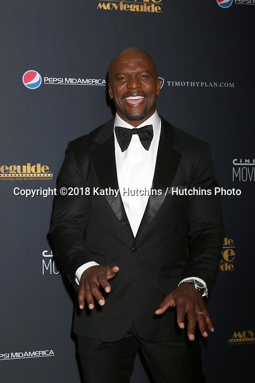 LOS ANGELES - FEB 2:  Terry Crews at the 26th MovieGuide Awards at the Universal Hilton Hotel on February 2, 2018 in Universal City, CA