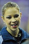 Olympic Test Event  Gymnastics. O2 Arena London England. 17.1.12. Rhythmic Competition. Francesca Jones of Great Britain