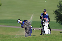 Antoine Rozner (FRA) on the 7th during Round 2 of the Challenge Tour Grand Final 2019 at Club de Golf Alcanada, Port d'Alcúdia, Mallorca, Spain on Friday 8th November 2019.<br /> Picture:  Thos Caffrey / Golffile<br /> <br /> All photo usage must carry mandatory copyright credit (© Golffile | Thos Caffrey)