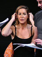LONDON, ENGLAND - Laura Pradelska stars in rehearsal reading of new play &quot;What Price For Justice?&quot; which is about a German judge whose life was destroyed by the Nazis in 1933, at Tristan Bates Theatre, August 11th, 2017 in London, England.<br /> CAP/JOR<br /> &copy;JOR/Capital Pictures