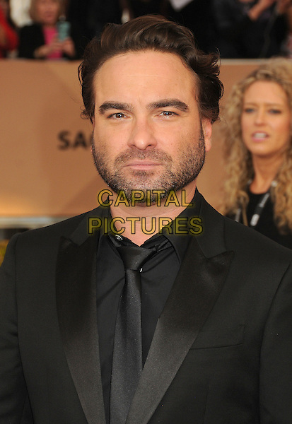 30 January 2016 - Los Angeles, California - Johnny Galecki. 22nd Annual Screen Actors Guild Awards held at The Shrine Auditorium.      <br /> CAP/ADM/BP<br /> &copy;BP/ADM/Capital Pictures