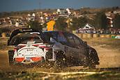 8th June 2017, Alghero, West Coast of Sardinia, Italy; WRC Rally of Sardina;  Latvala