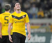 Fussball, 2. Bundesliga, Saison 2011/12, SG Dynamo Dresden - MSV Duisburg, Freitag (24.02.12), gluecksgas Stadion, Dresden. Dresdens Pavel Fort.