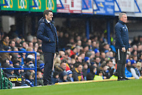 Shrewsbury Town Manager Sam Ricketts left and Portsmouth Manager Kenny Jackett during Portsmouth vs Shrewsbury Town, Sky Bet EFL League 1 Football at Fratton Park on 15th February 2020