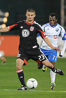 D.C. United midfielder Perry Kitchen (23) D.C. United tied The Montreal Impact 1-1, at RFK Stadium, Wednesday April 18 , 2012.