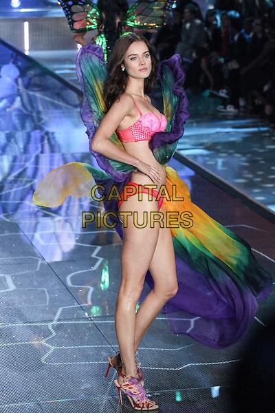 NEW YORK, NY - NOVEMBER 10: Jac Jagaciak         at the 2015 Victoria's Secret Fashion Show at Lexington Armory on November 10, 2015 in New York City.<br /> CAP/MPI/DC<br /> &copy;DC/MPI/Capital Pictures