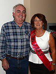 Goretti Kierans celebrating her 60th birthday with husband Michael in Brú. Photo:Colin Bell/pressphotos.ie