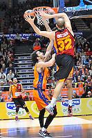 Lucic vs Guler<br /> Euroleague - 2014/15<br /> Regular season Round 7<br /> Valencia Basket vs Galatasaray