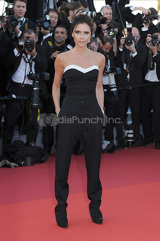 Victoria Beckham at &quot;Cafe Society&quot; &amp; Opening Gala arrivals - The 69th Annual Cannes Film Festival, France on May 11, 2016.<br /> CAP/LAF<br /> &copy;Lafitte/Capital Pictures /MediaPunch ***NORTH AND SOUTH AMERICA SALES ONLY***
