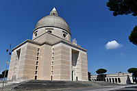 San Pietro and Paolo Church at EUR neighborood <br /> Roma 24/04/2020 <br /> City lockdown as a measure to contrast the covid-19 coronavirus pandemic <br /> Photo Andrea Staccioli Insidefoto