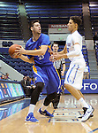 January 2, 2016 - Colorado Springs, Colorado, U.S. -  San Jose State forward, Cody Schwartz #33, looks to pass during an NCAA basketball game between the San Jose State Spartans and the Air Force Academy Falcons at Clune Arena, U.S. Air Force Academy, Colorado Springs, Colorado.  Air Force defeats San Jose State 64-57.