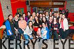 Staff Outing : Staff of Oaklands Nursing Home, Derry, Listowel enjoying their staff night out at Christy's Bar, Listowel on Friday nigh last.