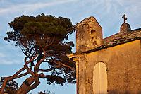 Europe/France/Corse/2B/Haute-Corse/Cap Corse/Pino: Col de Ste-Lucie: Chapelle Sainte-Lucie 1815