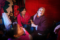An elderly female relative of 26 year old Tyhchtykbek tries to convince 20 year old Farida to marry him in the family yurt. Farida, a university student, was kidnapped by Tyhchtykbek after they had met twice before. Farida was convinced by Tyhchrybek's elder sister to accept his proposal while inside the car with which she was kidnapped. Although illegal, bride kidnapping is common in rural parts of Kyrgyzstan. Although illegal, bride kidnapping is common in rural parts of Kyrgyzstan. Each year around 16, 000 women become married after being kidnapped. They are known as 'Ala Kachuu' that translates as 'to grab and run away'. Defenders of the continuation of the practice sight tradition. However, during Soviet Times it was rare, and parents generally arranged marriages....