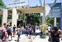 NITERÓI, RJ, 11.11.2018 - ENEM-PROVA - Movimentação durante o segundo dia de provas do ENEM, na Universidade Federal Fluminense (UFF- Gragoatá) em Niterói região metropolitana do Rio de Janeiro neste domingo, 11. (Foto: Clever Felix/Brazil Photo Press)