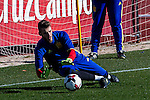Spainsh David de Gea during the training of the spanish national football team in the city of football of Las Rozas in Madrid, Spain. November 10, 2016. (ALTERPHOTOS/Rodrigo Jimenez)