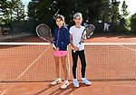 2018-09-25 / Tennis / Seizoen 2018 / Alexandra (l.) en Grace Biot<br /> <br /> ,Foto: Mpics
