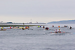 Open water racing, North American Open Water Championship, racing, competition, Port Townsend, Washington State, Pacific Northwest, Puget Sound, USA, Point Wilson, lighthouse,