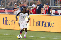 East Hartford, CT - Saturday July 01, 2017: Thomas Agyepong during an international friendly match between the men's national teams of the United States (USA) and Ghana (GHA) at Pratt & Whitney Stadium at Rentschler Field.