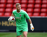 Simon Moore of Sheffield Utd during the U23 Professional Development League Two match at Bramall Lane Stadium, Sheffield. Picture date 18th August 2017. Picture credit should read: Simon Bellis/Sportimage