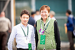 LOUISVILLE, KENTUCKY - MAY 01: Trainer, Koichi Tsunoda and owner Katsumi Yoshizawa,  connections of Master Fencer at the Kentucky Derby at Churchill Downs in Louisville, Kentucky on May 01, 2019. Evers/Eclipse Sportswire/CSM