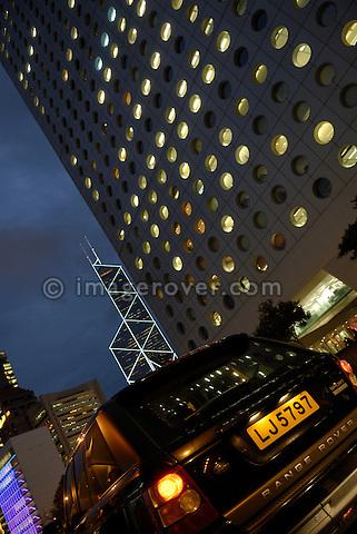 Range Rover Sport in Hong Kong, China, 2007.