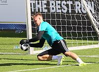 Torwart Bernd Leno (Deutschland Germany) - 25.05.2018: Training der Deutschen Nationalmannschaft zur WM-Vorbereitung in der Sportzone Rungg in Eppan/Südtirol