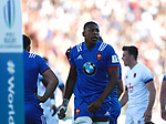Cameron Woki, England 25 v 33 France at Stade de la Mediterranee, Beziers, France, World Rugby U20 Championship 2018. Photo Martin Seras Lima