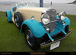 Cadillac 1931 452A Pininfarina, earliest known existing Pininfarina design, Pebble Beach Concours d'Elegance