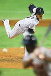 Takahiro Norimoto (JPN), <br /> NOVEMBER 15, 2014 - Baseball : <br /> 2014 All Star Series Game 3 between Japan 4-0 MLB All Stars <br /> at Tokyo Dome in Tokyo, Japan. <br /> (Photo by Shingo Ito/AFLO SPORT)[1195]