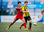 Wellington Phoenix vs HKFA U-18 during day two of the HKFC Citibank Soccer Sevens 2015 on May 30, 2015 at the Hong Kong Football Club in Hong Kong, China. Photo by Xaume Olleros / Power Sport Images