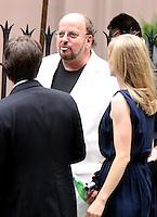 June 30, 2012 James Toback attend the Alec Baldwin and Hilaria Thomas Wedding Day at Basilica of St. Patrick's Old Cathedral in Little Italy in New York City.Credit:© RW/MediaPunch Inc. /*NORTEPHOTO.COM*<br /> *SOLO*VENTA*EN*MEXiCO* *CREDITO*OBLIGATORIO** *No*Venta*A*Terceros* *No*Sale*So*third* ***No Se*Permite*Hacer*Archivo** *No*Sale*So*third*©Imagenes con derechos de autor,©todos reservados. El uso de las imagenes está sujeta de pago a nortephoto.com El uso no autorizado de esta imagen en cualquier materia está sujeta a una pena de tasa de 2 veces a la normal. Para más información: nortephoto@gmail.com* nortephoto.com.