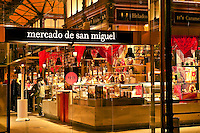 Mercado de san Miguel, Madrid, Spain