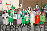 Listowel Parade : Pupils from Gael Scoil, Listowel who took part in the St. Patrick's day parade.
