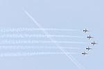 10.06.2010, ILA Internationalen Luftfahrt-Ausstellung ,Flughafen Schönefeld Berlin, GER, im Bild Jagdflugzeug Northrop F-5E Tiger II der Schweizerischen.Nationalstaffel Patrouille.Suisse Foto © nph / Hammes