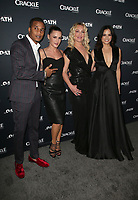 CULVER CITY, CA - MARCH 7: Cory Hardrict, Eve Mauro, Elisabeth Rohm, Katrina Law, pictured at Crackle's The Oath Premiere at Sony Pictures Studios in Culver City, California on March 7, 2018. <br /> CAP/MPIFS<br /> &copy;MPIFS/Capital Pictures