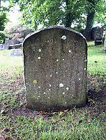 BNPS.,co.uk (01202 558833)<br /> Pic: ColinParr/BNPS<br /> <br /> The weathered gravestone before its restoration. <br /> <br /> A war hero who was dubbed the 'bravest man in the world' has been remembered after his lost and abandoned grave was re-discovered.<br /> <br /> The family of Lieutenant Colonel Louis Strange held a moving ceremony in a churchyard after his grave was repaired, spruced-up and re-dedicated. <br /> <br /> Lt Col Strange was a highly-decorated aviator pioneer who served in both world wars and cheated death on two occasions 25 years apart.<br /> <br /> He was buried in a village churchyard in Worth Matravers, Dorset, with a simple gravestone that was found leaning over and covered in lichen.