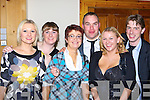Nicola Cronin, Shannon Leahy, Mary Fahy, Mark O'Mahony, Muriel McCarthy and Will Healy Killarney at the MD O'Sheas social in Darby O'Gills, Killarney Saturday night   Copyright Kerry's Eye 2008