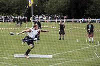 Scotland Highland games Bute Island<br /> Lancio del martello