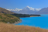 New Zealand South Island. Lake Pokaki and Tekapo 4-5star